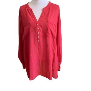 Maggie Barnes long sleeve blouse size 5X